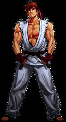 Ryu KOF XI artwork edit