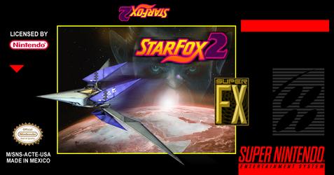 Star Fox 2 Custom label