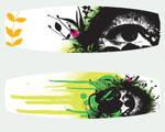 Listen Ver.2 Kite Board Design by mobbsquad