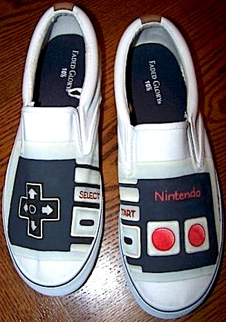 Nintendo Shoes by LovelyDear