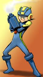 Mega Man by TonOfCartoons