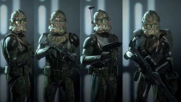 Star Wars Battlefront 2 2017 41st Elite Corps by BlueMoh