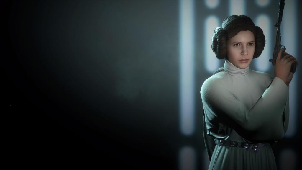 Star Wars Battlefront 2 Princess Leia Wallpaper By Bluemoh On Deviantart