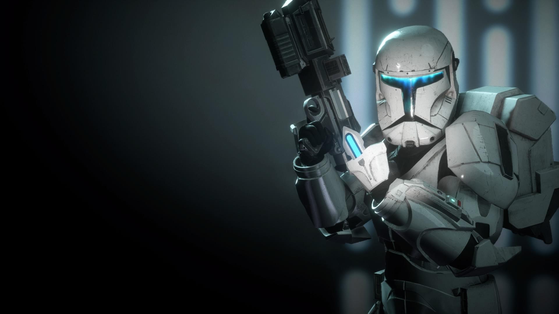 Star Wars Battlefront 2 Clone Commando Wallpaper By Bluemoh On
