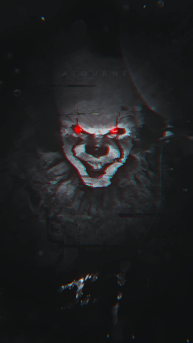 Pennywise (IT) Phone Wallpaper by Vicinityy ...
