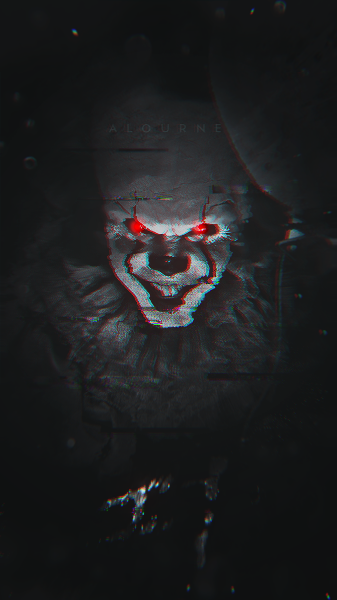 Pennywise IT Phone Wallpaper By Vicinityy