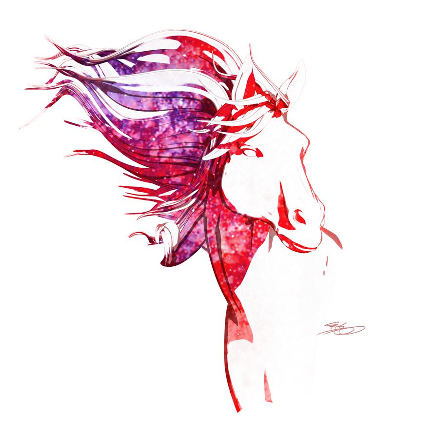 Horse Illustration 2 by art-merc