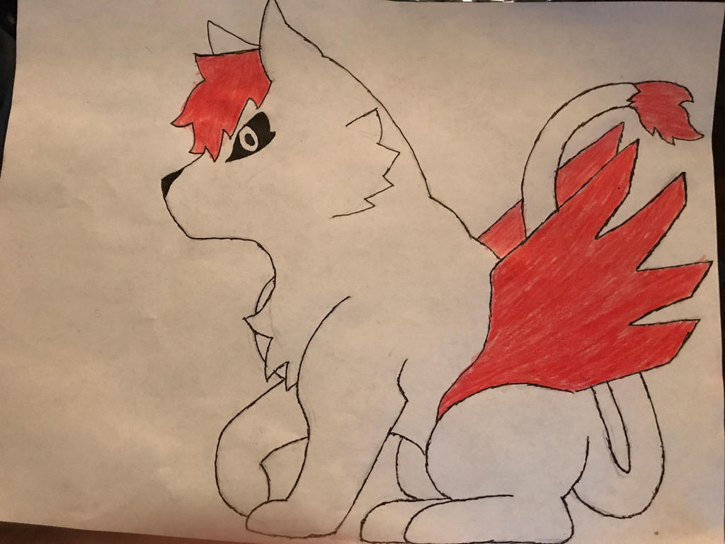 Commission fuchia the kitty (colored) by tukada