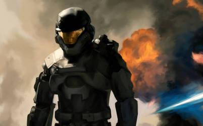 Halo Reach: Noble Six by OakKs