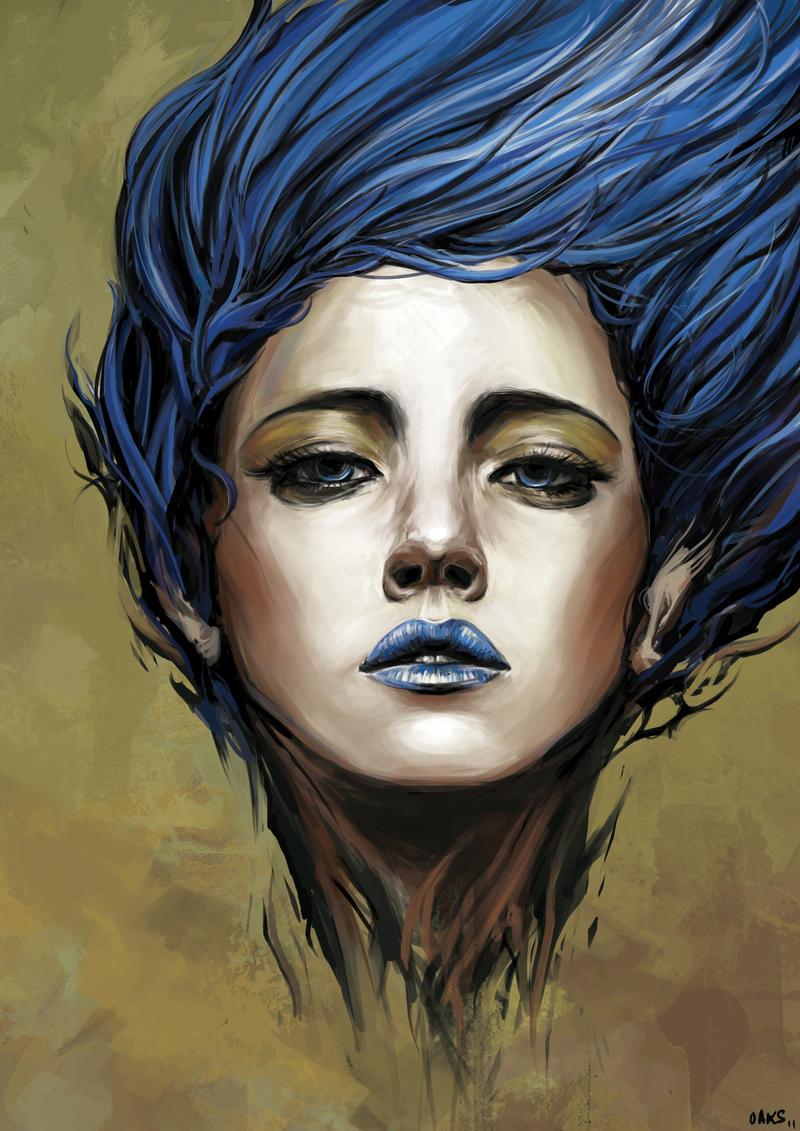 Blue Spirit. by OakKs