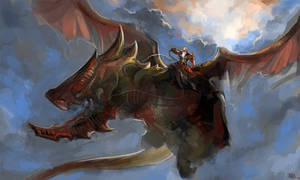 Dragon Rider by OakKs