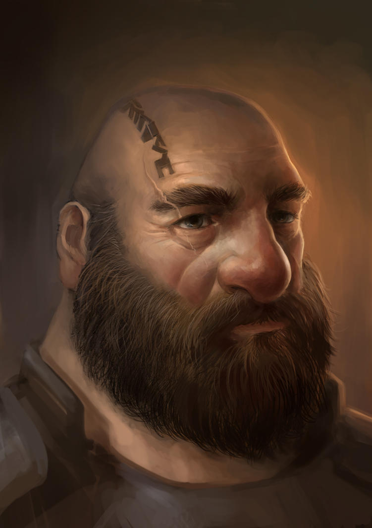 Dwarf Portrait by OakKs