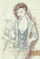 Vampire woman by IreneRoga