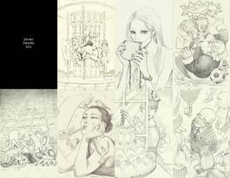 Seven Deadly Sins by IreneRoga