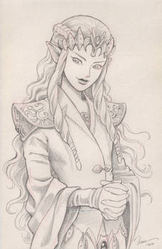 Character mix-up fusion: Zelda + Cersei