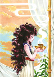 Priestess by IreneRoga