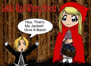 Chibi Red Winry Hood