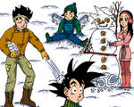 Son Family:  Winter Day