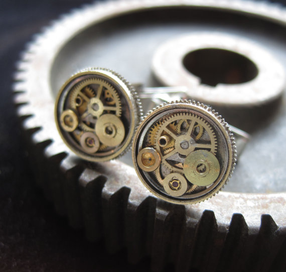 Cufflinks Model Six by AMechanicalMind