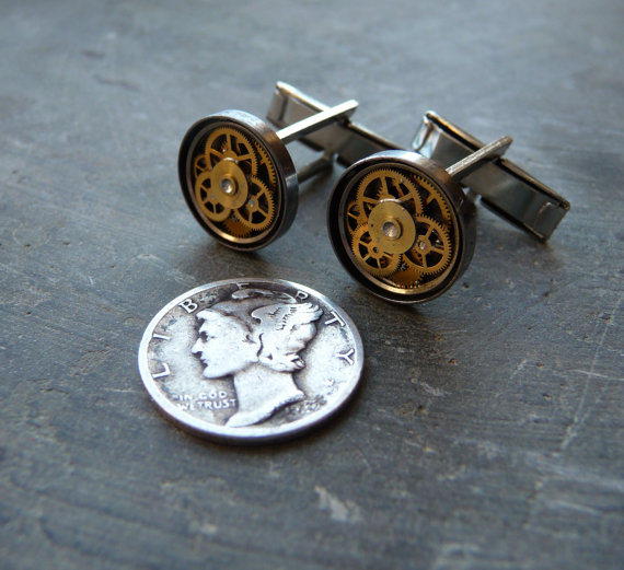 Cufflinks Model Seven by AMechanicalMind