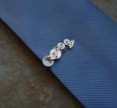 Tie Clip Twenty by AMechanicalMind
