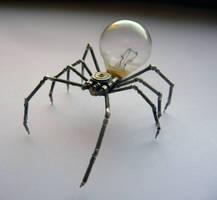 Mechanical Arachnid sculpture