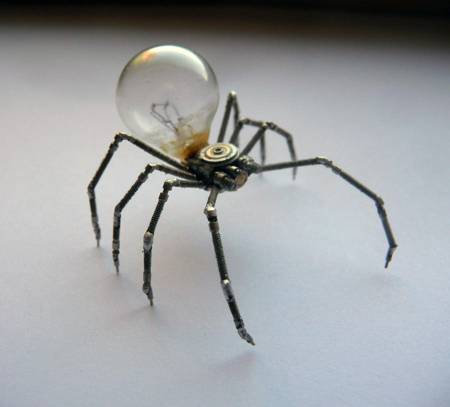 Mechanical Arachnid (II) by AMechanicalMind