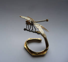 Clockwork Dragonfly (II) by AMechanicalMind