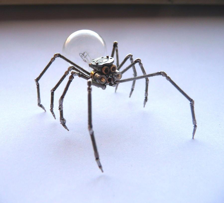 Clockwork Spider No 2 (III) by AMechanicalMind