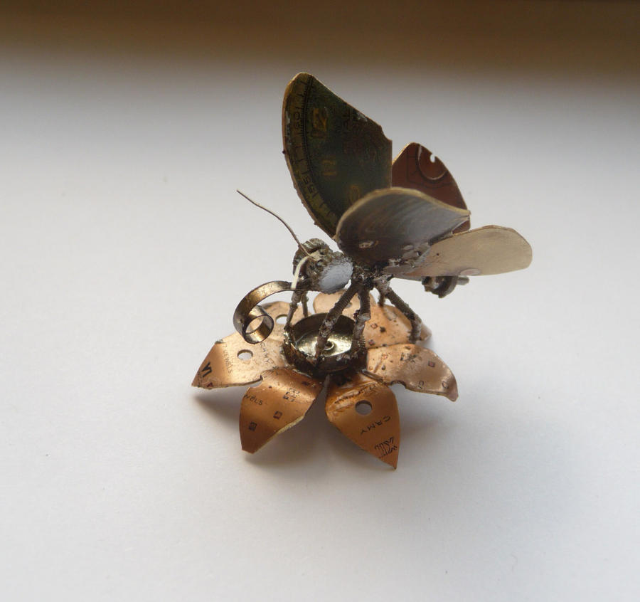 Mechanical Butterfly by AMechanicalMind