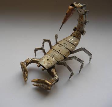Mechanical Scorpion by AMechanicalMind