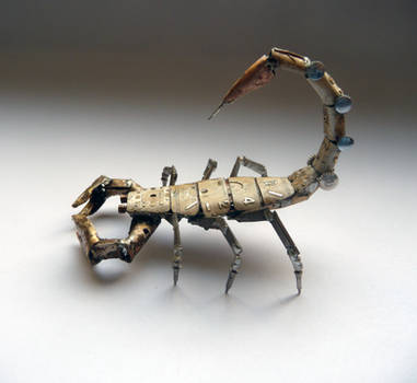 Mechanical Scorpion (III) by AMechanicalMind