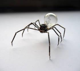 Mechanical Spider No 3 (II) by AMechanicalMind
