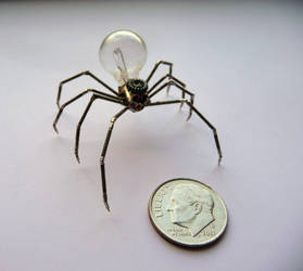 Mechanical Spider No 3 (III) by AMechanicalMind