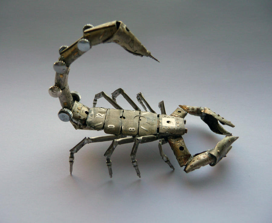 A Mechanical Scorpion (view 2) by AMechanicalMind