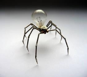 Clockwork Spider No 4 by AMechanicalMind