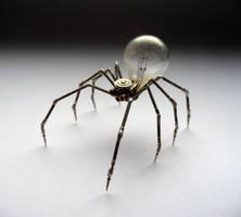 Clockwork Spider No 4 (II) by AMechanicalMind