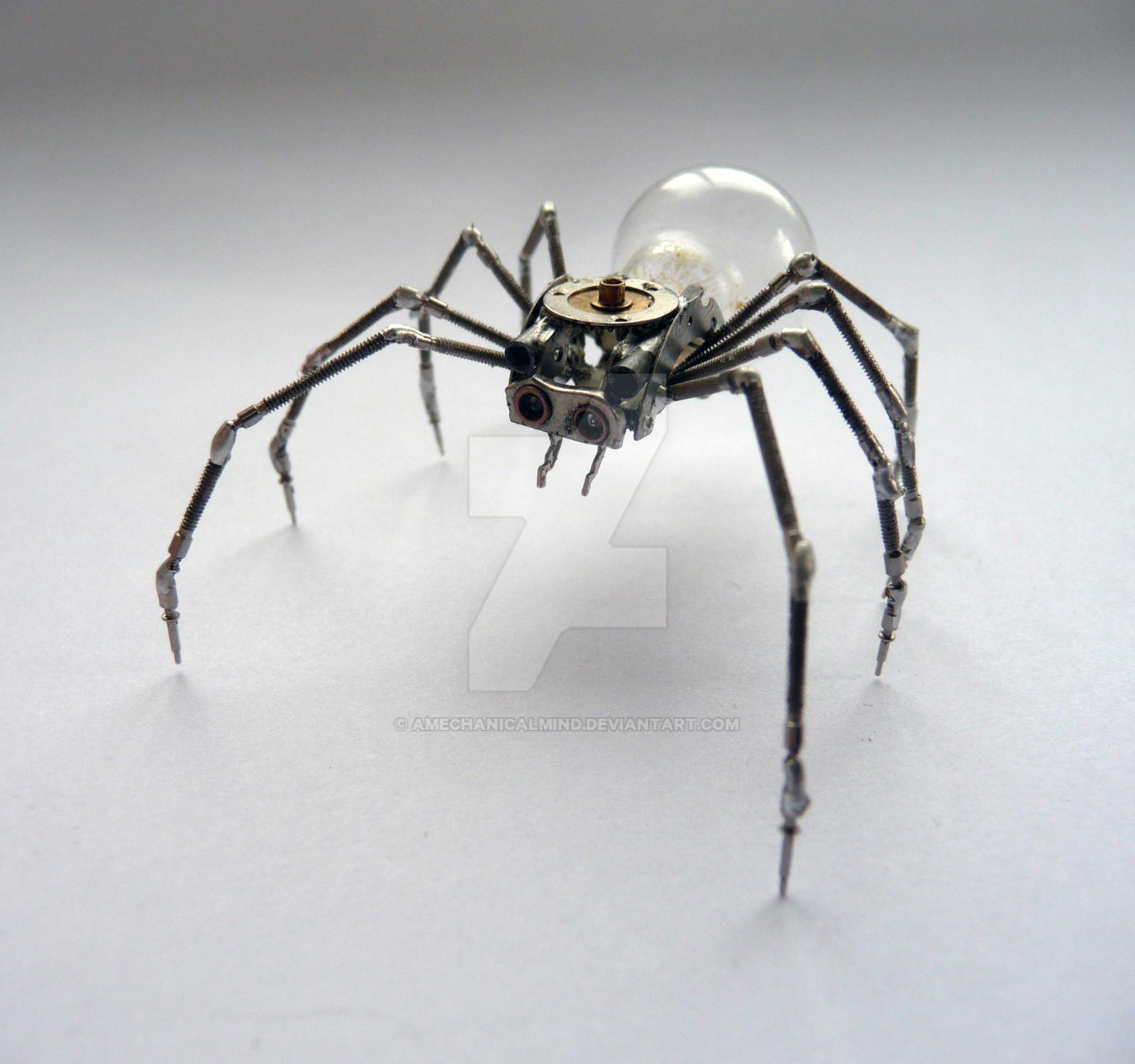 Clockwork Spider No 9 by AMechanicalMind