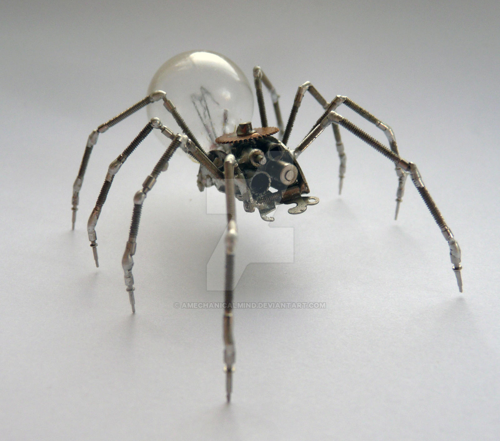 Mechanical Spider No 10 by AMechanicalMind