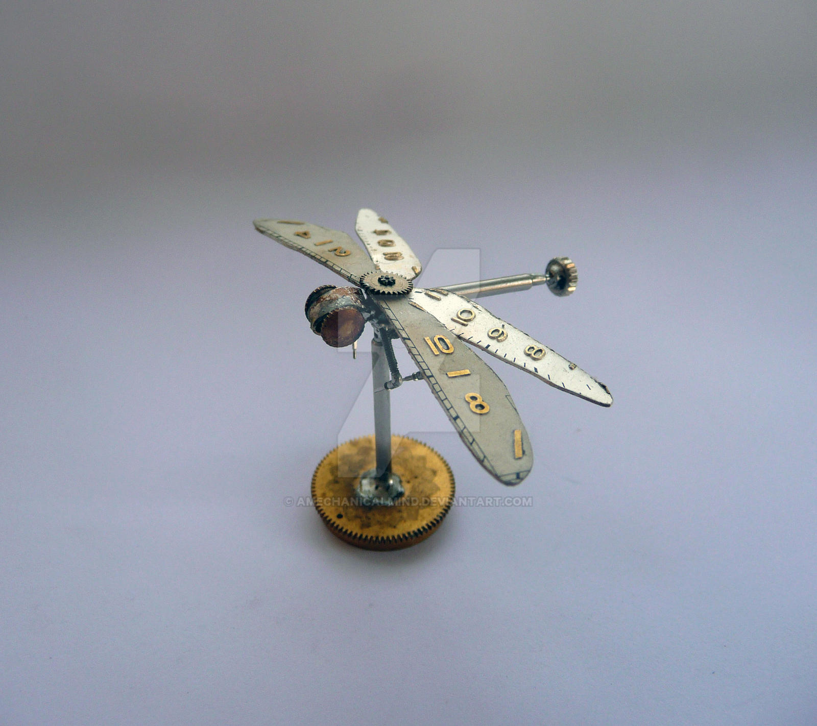 Mechanical Dragonfly No 2 by AMechanicalMind