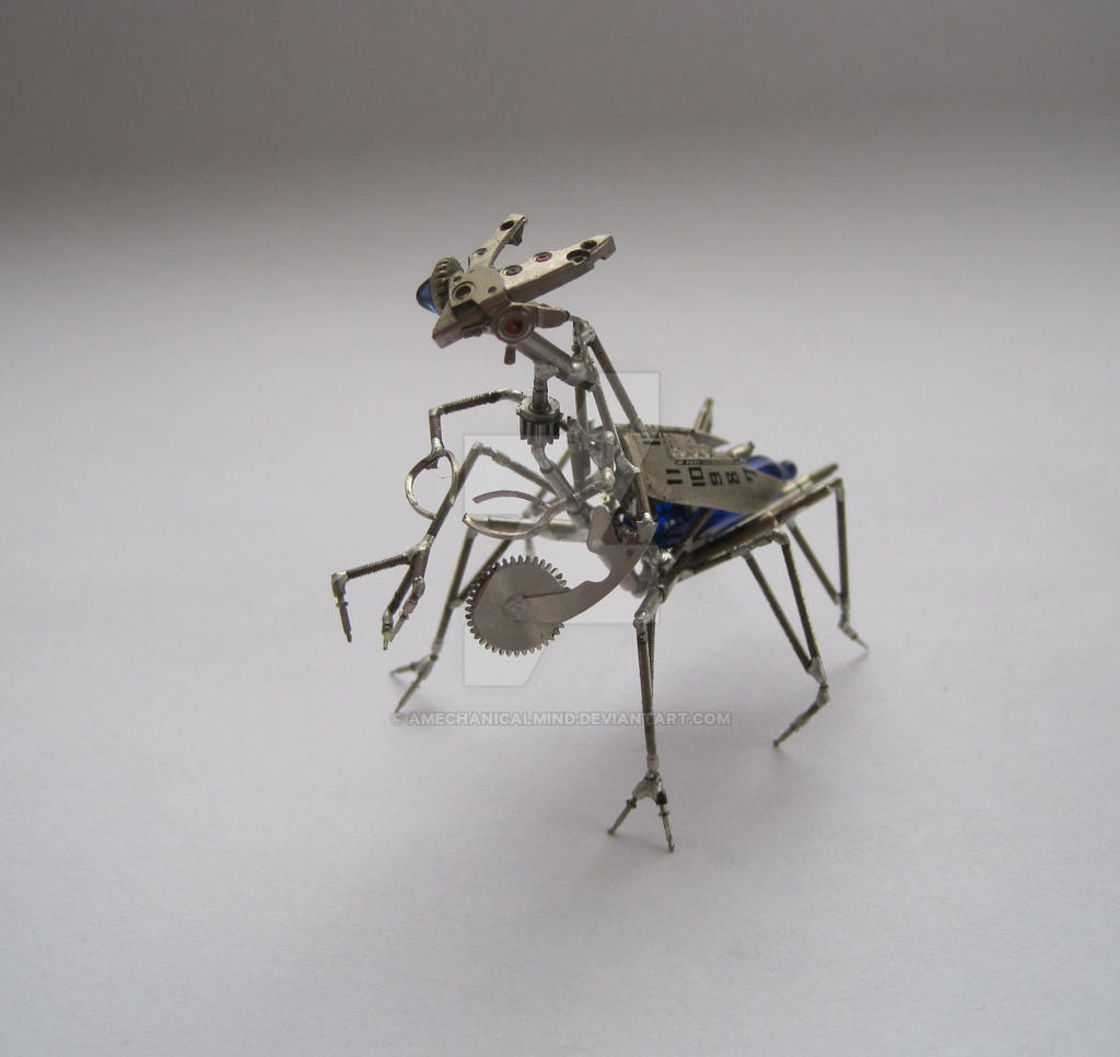 Mechanical Mantid by AMechanicalMind