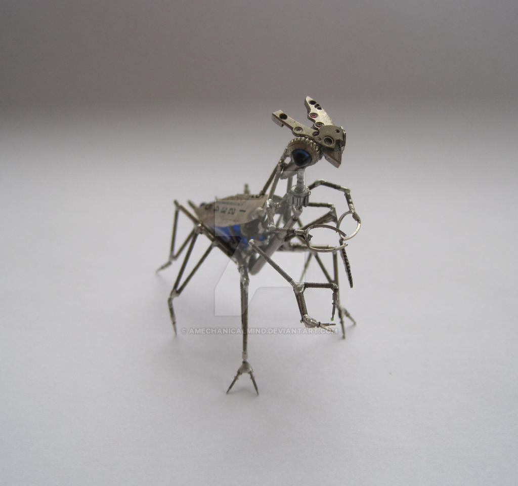 Mechanical Mantid (II) by AMechanicalMind