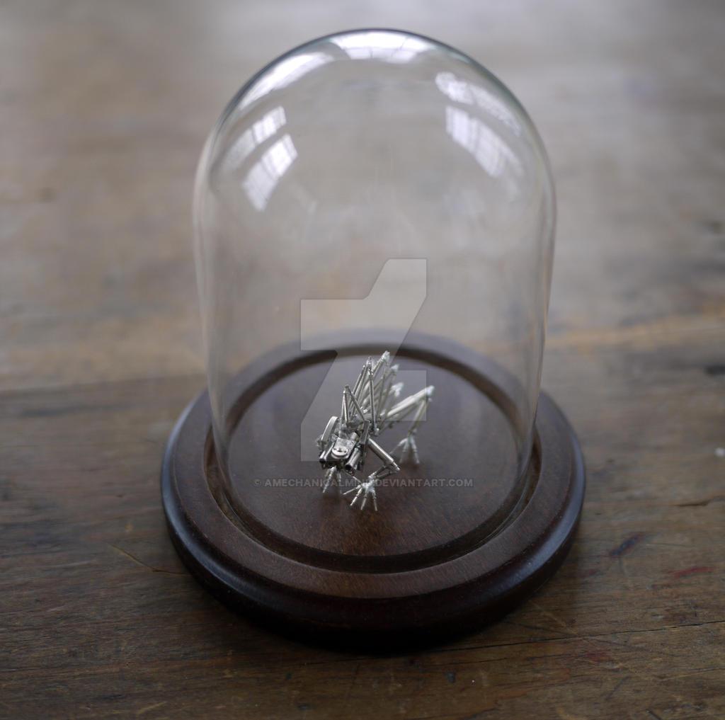 Mechanical Creature Spike Under Glass by AMechanicalMind