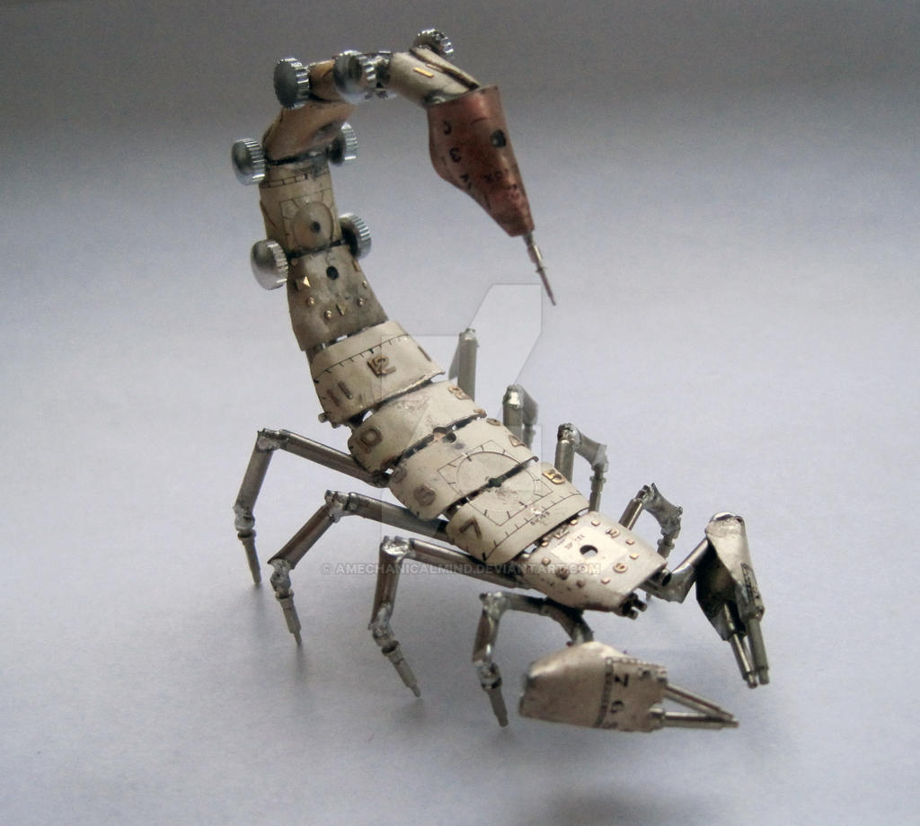 Mechanical Scorpion No 4 II by AMechanicalMind