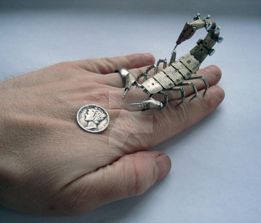 Mechanical Scorpion No 4 III by AMechanicalMind