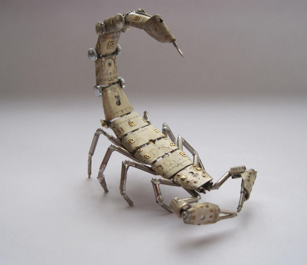 Mechanical Scorpion No 5 (II) by AMechanicalMind