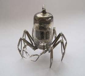 Vacuum Arachnid No 1 by AMechanicalMind