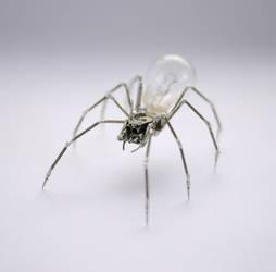 Clockwork Spider No 21 by AMechanicalMind