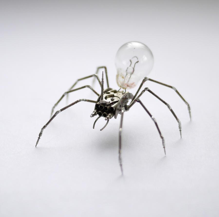 Clockwork Spider No 25 by AMechanicalMind