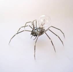 Mechanical Clockwork Spider No 26 by AMechanicalMind